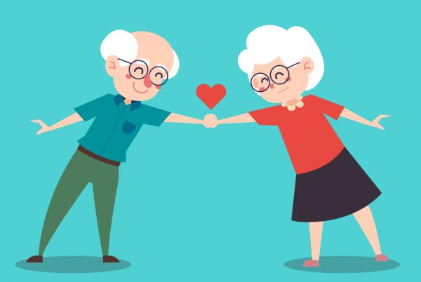 anziani si tengono per mano: hanno la polizze vita