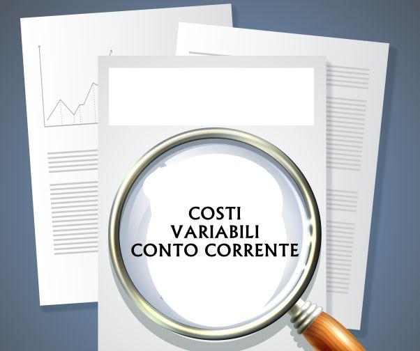 costi variabili conto corrente