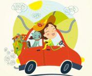 Cani e gatti in auto: come assicurarli in caso di incidente