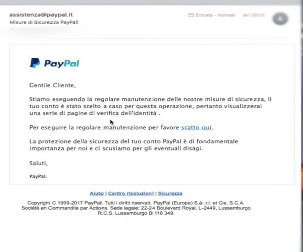 truffe paypal
